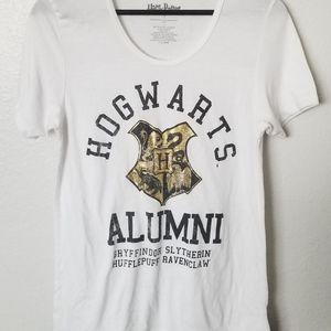 Hogwarts Alumni White Tee